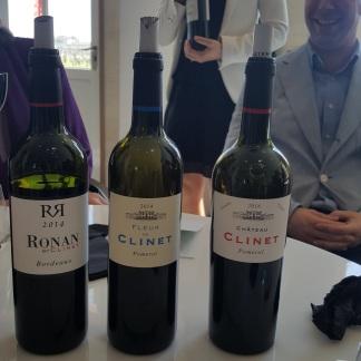 Gama de vinos Clinet
